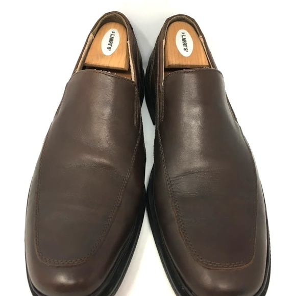 87ffa18cc5287 Clarks Shoes | Flexlight Men Loafer Size 9 Brown Leather | Poshmark